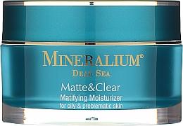 Матиращ и хидратиращ крем за мазна и проблемна кожа - Mineralium Dead Sea Matte & Clear — снимка N3