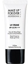 Парфюмерия и Козметика Основа за грим - Make Up For Ever UV Prime SPF 50/PA Daily Protective Make-up Primer