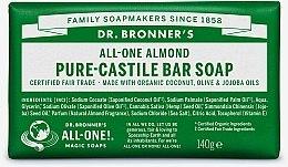 "Парфюми, Парфюмерия, козметика Сапун ""Бадем"" - Dr. Bronner's Pure Castile Bar Soap Almond"