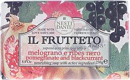 """Парфюмерия и Козметика Сапун """"Нар и касис"""" - Nesti Dante Il Frutteto Soap"""