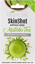 """Парфюми, Парфюмерия, козметика Детокс маска за лице """"Matcha Tea"""" - Bielenda Skin Shot Matcha Tea"""