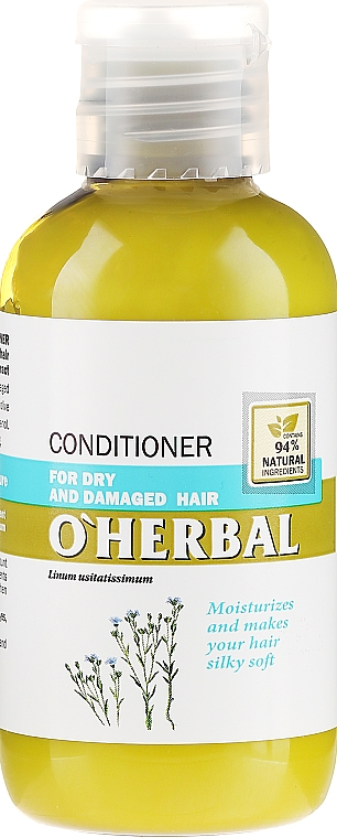 """Балсам за суха и изтощена коса """"Мекота и копринена нежност"""" - O'Herbal"""