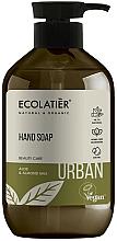 Парфюмерия и Козметика Течен сапун за ръце с алое и бадемово мляко - Ecolatier Urban Liquid Soap