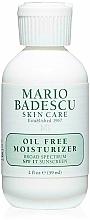 Парфюмерия и Козметика Овлажняващ крем за лице с SPF 17 - Mario Badescu Oil Free Moisturizer Broad Spectrum SPF 17