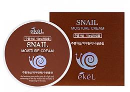 Парфюмерия и Козметика Крем за лице със секрет от охлюв - Ekel Snail Moisture Cream