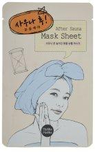 Парфюмерия и Козметика Маска за лице от плат за свиване на порите - Holika Holika After Mask Sheet Sauna