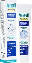 Парфюмерия и Козметика Специализиран гел за проблемна кожа със сребърни йони и карнозин - Deep Pharma Karnosil Acnohelp