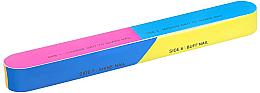 Парфюми, Парфюмерия, козметика 7-степенна полираща пила за нокти 163x22x17mm - Tools For Beauty 7-way Nail Buffer Block