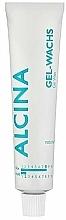 Парфюмерия и Козметика Гел-восък за оформяне на коса с естествена фиксация - Alcina Styling Natural Gel-Wachs Hold 2 (туба)