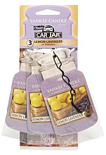 "Парфюми, Парфюмерия, козметика Ароматизатор ""Лимон и лавандула"" - Yankee Candle Fluffy Lemon Lavender Jar Ultimate"