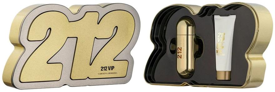 Carolina Herrera 212 VIP - Комплект (парф. вода/80ml + лосион за тяло/100ml) — снимка N1