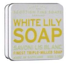 Парфюми, Парфюмерия, козметика Сапун - Scottish Fine Soaps White Lily Floral Soap In A Tin