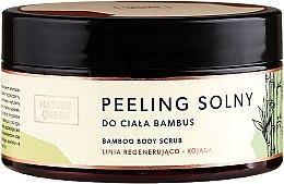 """Парфюмерия и Козметика Солен скраб за тяло """"Бамбук"""" - Nature Queen Body Scrub"""