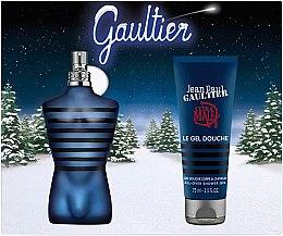 Парфюми, Парфюмерия, козметика Jean Paul Gaultier Ultra Male - Комплект (тоал. вода/75ml + душ гел/75ml)
