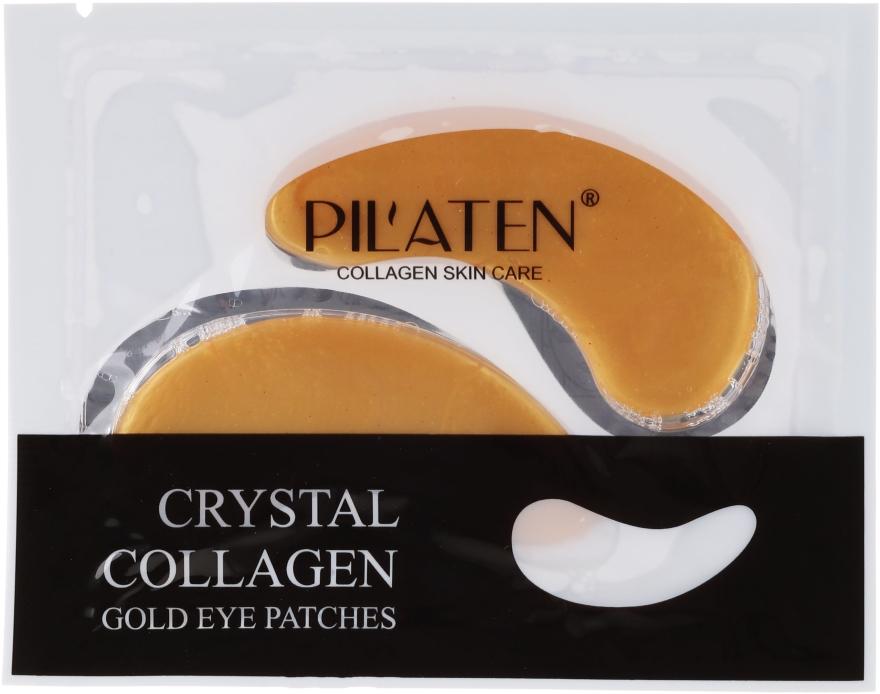 Маска-пачове за очи с колаген - Pilaten Crystal Collagen Gold Eye Mask