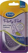 Парфюмерия и Козметика Прозрачни ултратънки силиконови стелки за обувки - Scholl Party Feet Ultra Slim Invisible Gel Cushions