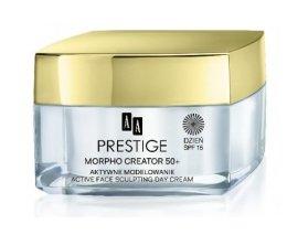Парфюмерия и Козметика Дневен крем за лице - AA Prestige Morpho Creator 50+ Active Face Sculpting Day Cream SPF15