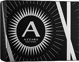 Парфюмерия и Козметика Azzaro Pour Homme - Комплект (тоал. вода/100ml + шамп./100ml + афтър./50ml)