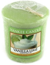 Парфюми, Парфюмерия, козметика Ароматна свещ - Yankee Candle Vanilla Lime