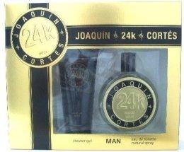 Парфюми, Парфюмерия, козметика Joaquin Cortes 24k Man - Комплект (edt/100ml + ash/balm/150ml)