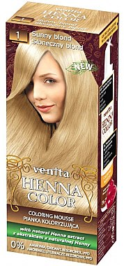 Мус-боя за коса - Venita Henna Color Coloring Mousse