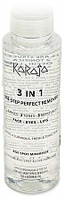 Парфюми, Парфюмерия, козметика Мицеларна вода - Karaja 3in1 Micellar Water Cleanser 3in1 One-Step Perfect Remover