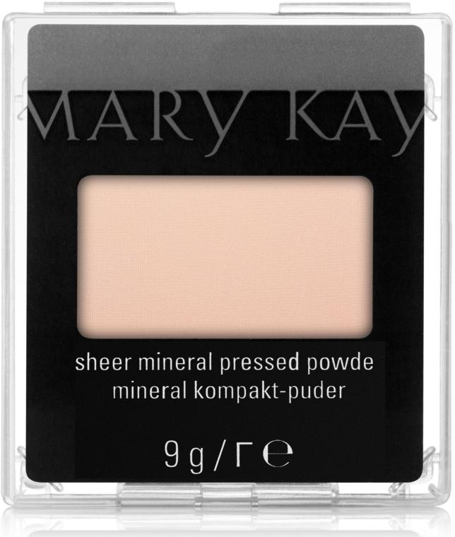 Компактана минерална пудра за лице - Mary Kay Sheer Mineral Pressed Powder — снимка N1