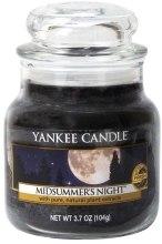 """Парфюмерия и Козметика Ароматна свещ """"Лятна нощ"""" - Yankee Candle Midsummer's Night"""