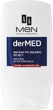 Балсам след бръснене за много чувствителна кожа - AA Cosmetics Men derMED After-Shave Balm — снимка N2