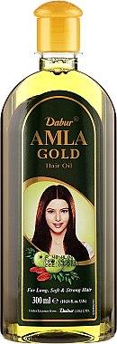 "Масло за коса ""Злато"" - Dabur Amla Gold Hair Oil — снимка N4"