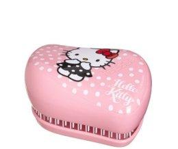 Парфюми, Парфюмерия, козметика Компактна четка за коса - Tangle Teezer Compact Styler Hello Kitty Pink