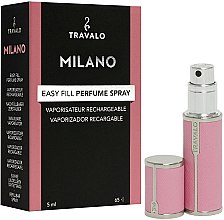 Парфюмерия и Козметика Пълнител - Travalo Milano Pink Rose