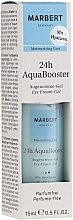 Парфюмерия и Козметика Освежаващ крем-гел за околоочния контур - Marbert 24h AquaBooster Augencreme-Gel