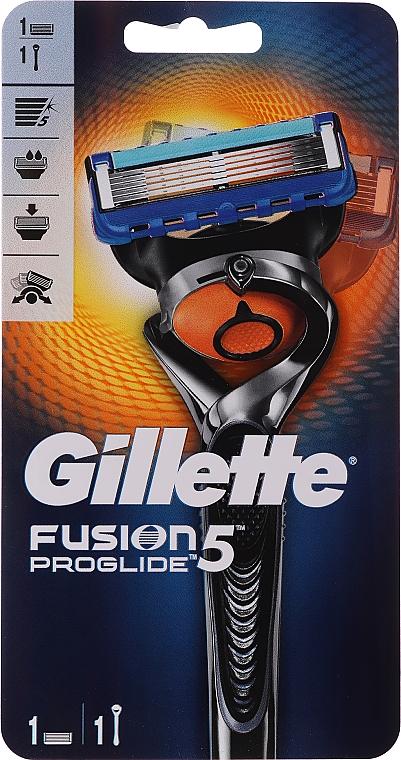 Самобръсначка със сменяеми ножчета - Gillette Fusion ProGlide Flexball