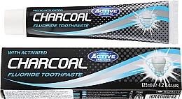 Парфюмерия и Козметика Паста за зъби с активен въглен - Beauty Formulas Charcoal Activated Fluoride Toothpaste
