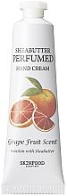 Парфюмерия и Козметика Крем за ръце - Skinfood Shea Butter Perfumed Hand Cream Grapefruit Scent