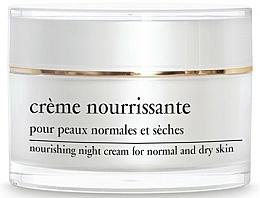 Парфюмерия и Козметика Нощен подхранващ крем за лице - Yellow Rose Creme Nourrissante