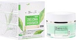 Парфюми, Парфюмерия, козметика Регулиращ нощен крем за комбинирана кожа - Bielenda Green Tea Regulating Face Night Cream