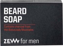 Парфюмерия и Козметика Сапун грижи за брадата - Zew For Men Natural Beard Soap