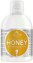 Парфюми, Парфюмерия, козметика Възстановяващ шампоан за коса с екстракт от мед - Kallos Cosmetics Honey Shampoo