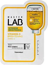 Парфюми, Парфюмерия, козметика Маска за лице от плат с витамин C - Tony Moly Master Lab Vitamin C Mask