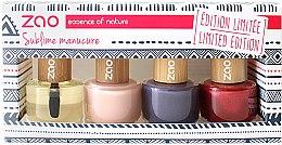 Парфюмерия и Козметика Комплект лакове за нокти - Zao Limited Edition Christmas Nail Polish Box