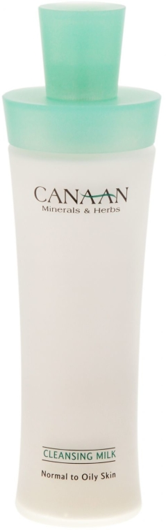 Почистващо мляко за нормална и мазна кожа - Canaan Minerals & Herbs Cleansing Milk Normal to Oily Skin — снимка N2