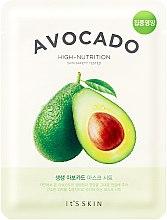Парфюмерия и Козметика Маска за лице от плат - It's Skin The Fresh Avocado Mask Sheet