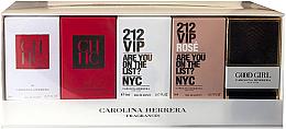 Парфюми, Парфюмерия, козметика Carolina Herrera Travel Mini - Комплект (edt/2x5ml + 2x7ml)