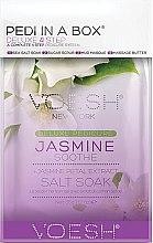 "Парфюми, Парфюмерия, козметика Комплект за педикюр ""Жасмин"" - Voesh Pedi In A Box Deluxe Pedicure Jasmine Soothe (35 g)"