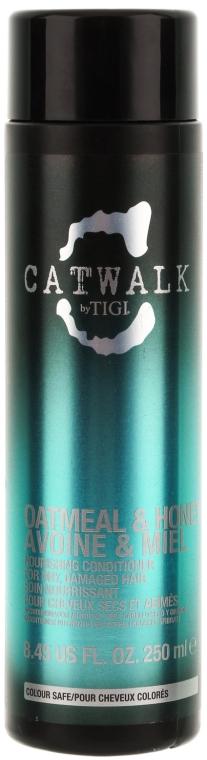 Възстановяващ балсам за коса - Tigi Catwalk Oatmeal & Honey Conditioner