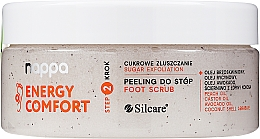 Парфюмерия и Козметика Захарен пилинг за крака - Silcare Nappa Natural Sugar Foot Scrub