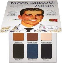 Парфюмерия и Козметика Палитра сенки за очи - theBalm Meet Matt(e) Ador Matte Eyeshadow Palette