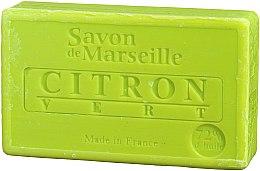 """Парфюмерия и Козметика Натурален сапун """"Лимон и лайм"""" - Le Chatelard 1802 Soap Lemon & Lime"""